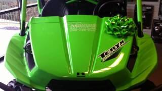 6. 2011 Kawasaki Teryx 750 Sport