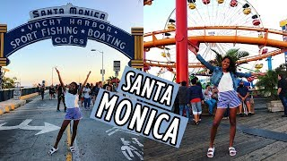 Olá, meus amores!! Trago para vocês mais um vídeo do meu Diário de Viagem mostrando nosso passeio e nossos micos em Santa Monica. Então, bora ver?ONDE ME ENCONTRAR:INSTAGRAM: instagram.com/flaviamtorresFACEBOOK: facebook.com/blogachadoseperdidos