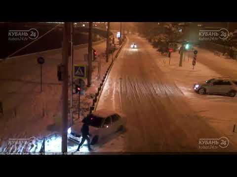 ДТП на ул. Кубанская набережная и ул. Гоголя 25.02.2018