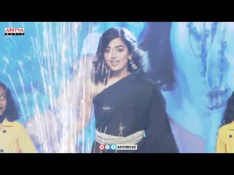 Rashmika Mandanna Dance Performance  @ Devadas Audio Launch | Akkineni Nagarjuna, Nani