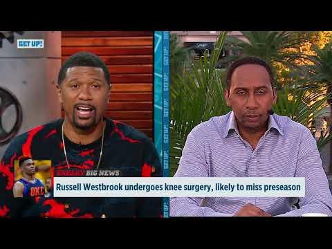 Jalen Rose and Stephen A. break down Russell Westbrook's knee surgery   Get Up!   ESPN