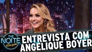 Danilo recebe a atriz e musa das novelas da tarde do SBT, a linda Angelique Boyer. Veja mais em: www.sbt.com.br/thenoite/...