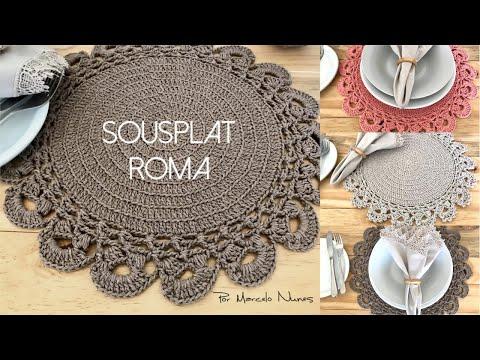 Sousplat Roma