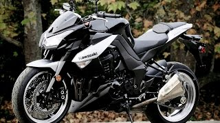1. Kawasaki Z1000 Top Speed Test Ride! Exhaust Sound