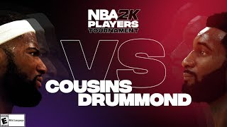 NBA2K Tournament Full Game Highlights: Demarcus Cousins vs. Andre Drummond by NBA