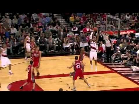 Camby to Aldridge against the Nets