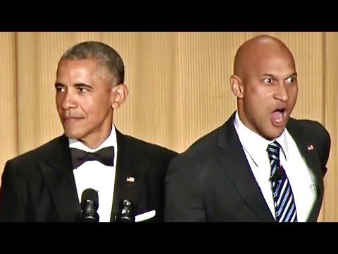 President Obama's Anger Translator at the 2015 White House Correspondents Dinner (Full video)