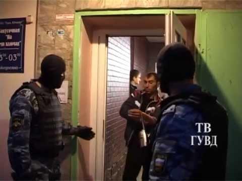 сходка азербайджанских авторитетов в Екатеринбурге. Оперативная съёмка задержания