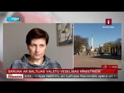 """LTV """"Rīta Panorāma"""" saruna ar veselības ministri Ilzi Viņķeli par COVID-19 aktualitātēm veselības nozarē"""