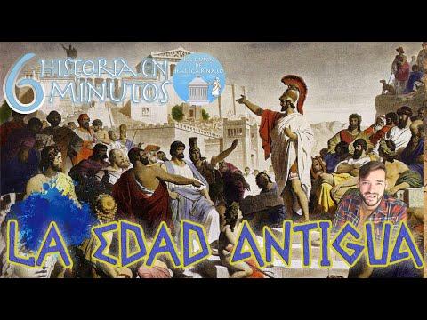 LA EDAD ANTIGUA (3500 a.C. - 476 d.C.) | Resumen en 6 minutos
