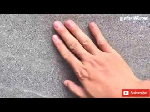 Gạch 60x60 đá nhám Hoàng Gia lót gara xe | Gạch lót gara xe