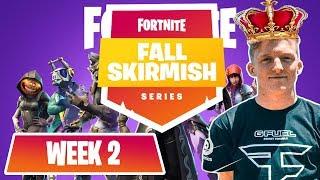 Video $10M Fortnite Fall Skirmish *ALL GAMES*  (WEEK 1) #FortniteBR FT. NINJA, TFUE, NICK EH 30 MP3, 3GP, MP4, WEBM, AVI, FLV September 2018