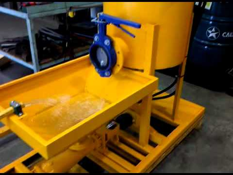 Wagss Continuous Grout Pump