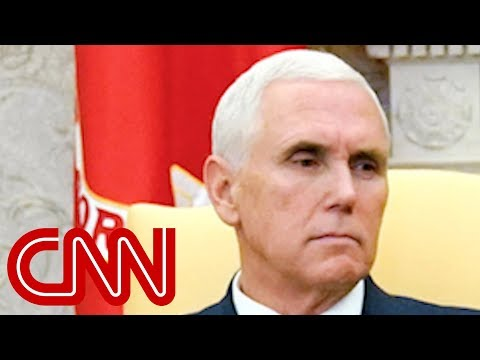 Twitter roasts Pence over Oval Office meeting