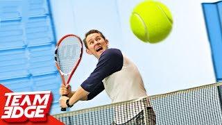 GIANT Tennis Challenge!!