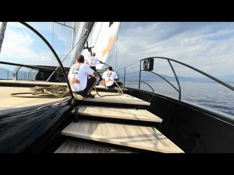 Vitters Shipyard   Aglaia 66 Meter Sloop Rigged Aluminium Yacht | Video
