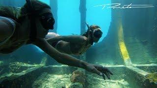 Video FREEDIVING inside a broken down shipwreck MP3, 3GP, MP4, WEBM, AVI, FLV Juni 2019