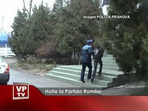 Hoţie la Partida Romilor