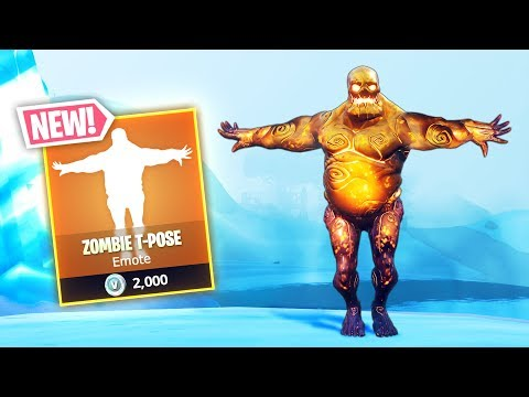 *NEW* ZOMBIE T-POSE!! - Fortnite Funny WTF Fails And Daily Best Moments Ep.896