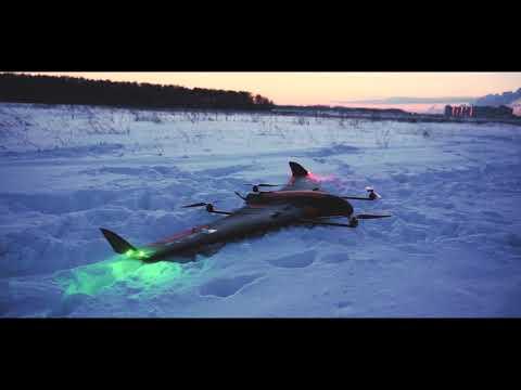 Самолет с вертикальным взлетом VolJet VTOL X8C