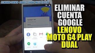 """Explicación detallada de como Eliminar la Cuenta de Google de un Lenovo Moto G4 Dual XT1601 / Detailed Explanation of How to Delete the Google Account for a Lenovo Moto G4 Dual XT1601 and XT1621================================================================================Puedes apoyar el canal en Patreon: https://www.patreon.com/juanandresm  Gracias por tu apoyo y motivación.================================================================================Enlace: https://goo.gl/WKFQuF================================================================================APORTES USUARIOS: PREGUNTA: No sale Google en el menu?RESPUESTA: Hola, en vez de darle a compartir cuando escribis el nombre de la red selecciona """"asistencia"""" le das al icono de las tresrayitas, seleccionas configuracion y listo,despues solamente segui los pasos del video. [Vartan Malakian][MegaRiot95]Funcionó perfecto! Mi modelo era el Moto G3 XT1542 y quedó genial (Seguridad de Octubre, 2016)Muchas gracias... :) PD: Si no les aparece la opción """"Google"""" - minuto 2:47 - simplemente vayan a """"Aplicaciones"""",después a  """"Aplicación de Google..."""", Notificaciones y sigan con el resto. Saludos! [ MegaRiot95 ]================================================================================FACEBOOK: https://www.facebook.com/hardresettutosTWITTER: https://twitter.com/juanbandas192================================================================================"""
