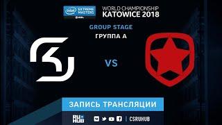 SK vs Gambit - IEM Katowice 2018 - map3 - de_train [Enkanis, yXo]