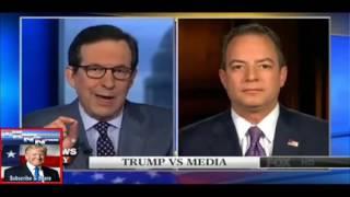 Scaramucci attacks top Trump aide Priebus.