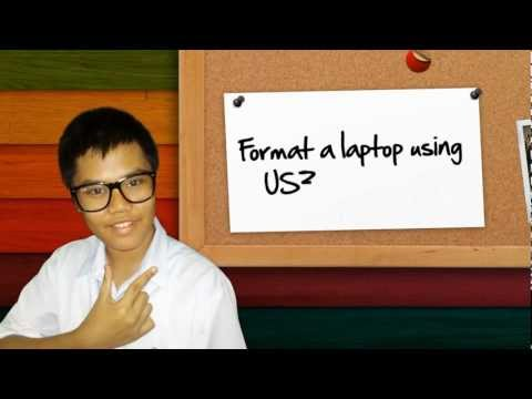 how to reformat a laptop