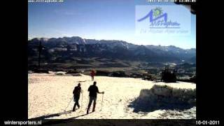 Mittag Ski Center Mittagbahn webcam time lapse 2010-2011