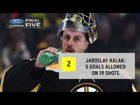 Video: Ford F-150 Final Five: Bruins goalies struggle in loss to Canucks