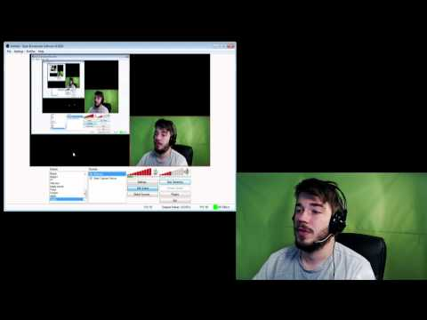 How to stream webcam to youtube
