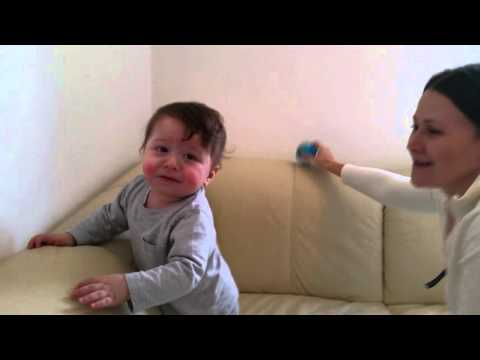 How to teach baby to walk   9 month old walking
