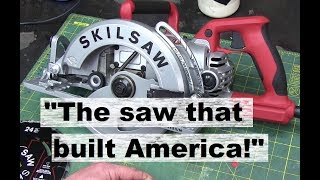 BOLTR: Skilsaw 77 Magnesium Worm Drive