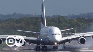 Vídeo registra pouso de Airbus durante tempestade
