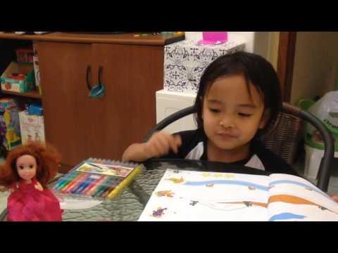 Zara Belajar Menulis di rumah ( home schooling )