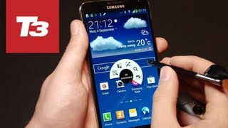 SAMSUNG GALAXY NOTE 3 LAUNCH EVENT HANDS-ON