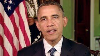 """נשיא ארה""""ב, ברק אובמה, מאחל שנה טובה לעם היהודי"""