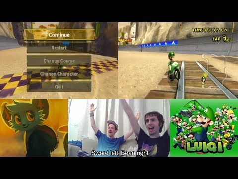 Guy casually beats the longest standing world record in mario kart.