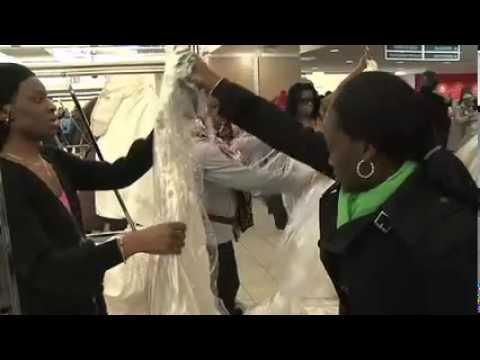 Union Square Running of the Brides (видео)