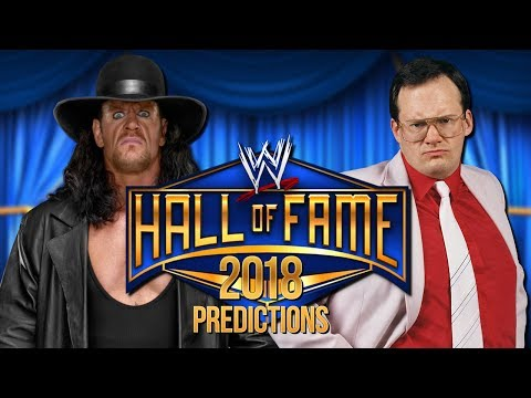 Download Video Early 2018 WWE Hall Of Fame Predictions!