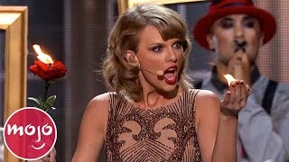 Video Top 10 Iconic Taylor Swift Moments MP3, 3GP, MP4, WEBM, AVI, FLV Juni 2019