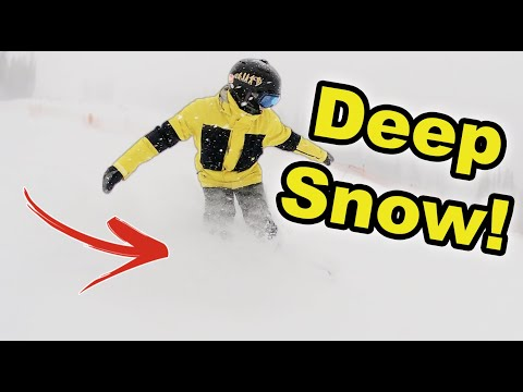 Snowboarding in a Complete White Out! - (Season 5, Day 12)