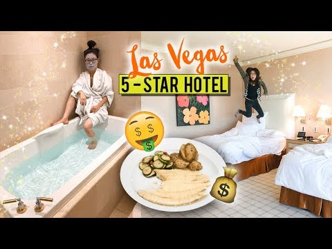 5-STAR HOTEL TOUR in Las Vegas ♦ Italian Fine Dining Experience