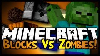 Minecraft: Mini Game: Blocks Vs Zombies! (Server Edition!) w/ Gizzy&Friends!
