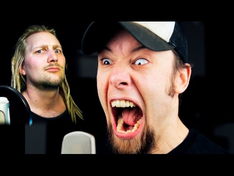 Eye of the Tiger (metal cover by Leo Moracchioli feat. Rob Lundgren)