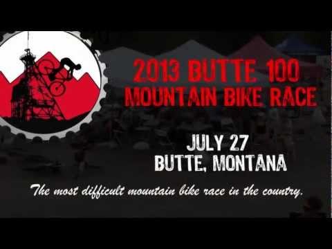 2013 Butte 100 mountain bike race video