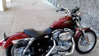 10. Harley Sportster, very low seat height, perfect for a vertically challenged rider
