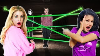 Video GAME MASTER Escape Room Overnight w/ Vy Qwaint and Rebecca Zamolo (New Clues and Mysterious Riddles) MP3, 3GP, MP4, WEBM, AVI, FLV Desember 2018