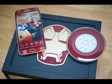 Đập hộp GALAXY S7  Edge Iron Man Phiên bản người sắt <3 Y_Y