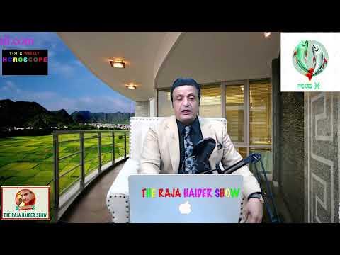 Horoscope of the week September 28th October 4th. Raja Haider